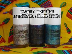 @TawdryTerrier Furiesta collection - new polishes daily at https://www.etsy.com/shop/TawdryTerrier #nailpolish #fiesta #niosa #sanantonio #indienailpolish #tawdryterrier #cincodemayo