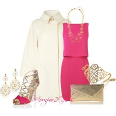 """""""Fushia Today"""" by momfor2girls on Polyvore"""