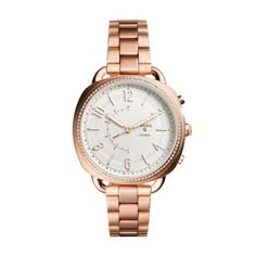 Fossil Q Q Accomplice Hybrid Smartwatch - Men Wrist Watch on YOOX. The best online selection of Wrist Watches Fossil Q. Fossil Jewelry, Coin Jewelry, Jewelry Watches, Stainless Steel Jewelry, Stainless Steel Watch, Smart Bracelet, Bracelet Watch, Or Rose, Rose Gold