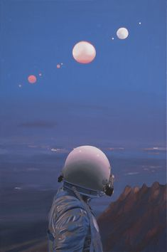 "Scott Listfield's ""Once An Astronaut.""Opening this coming weekend on August 13th, 2016 for Thinkspace Gallery's group exhibition ""The New Vanguard"" at MOAH Lancaster in Lancaster, California (More..."