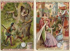 Liebig- Serie Nr. 574 Die sieben Raben und die treue Schwester von 1903