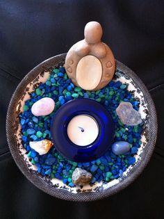 "Custom ""Portable"" Goddess Altar by SpiritNawlins"