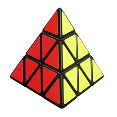 Yj moyuピラミッドマジックキューブpyraminxスピードパズルキューブゲームトライアングル形状cubos magicosツイストパズル学習教育おもちゃ