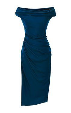 Silk Georgette Dress by Cushnie et Ochs for Preorder on Moda Operandi