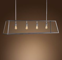 glass filament light fixture | ... Edison-style filament bulbs, which cast a mood-setting ambient light