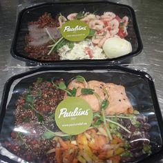 Grymaste matlådorna i Örebro. Beställ frukost,  lunch,  mellanmål från Sveriges nyttigast restaurang.  Paulúns Deli i Örebro Saluhall. #paulunsdeli #pauluns #örebrosaluhall #lifestyle #fitnessmat #fitness #träning #matlådor #lunchiorebro #lunch #fräschmat #grymmat #energi #näring #nutrition #örebro #bank #försäkring #Padgram