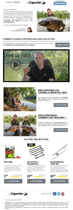 Objet : [Conseils] Comment pêcher les plus grosses carpes ? Octobre 2015