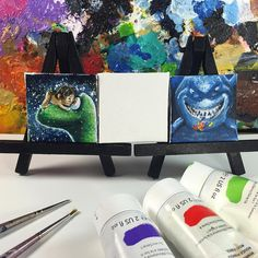 https://flic.kr/p/EjtCE8 | It's my small but growing collection of Petite Pixar Paintings. Who should I do next?