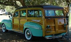"1947 Mercury ""Woody"" Wagon, Palo Alto Concours D'Elegance, Palo Alto California by Son-of-a-Beach (aka John Beach), via Flickr"