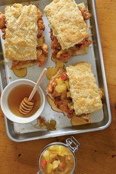 Chicken Thigh Recipes: Fried Chicken Thighs & Biscuits