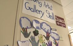 Everyone likes to be recognized for their achievements, which is why the first annual Young Artists Gallery Stroll was an exciting event for some elementary-aged special education students.