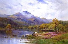 The Trossachs, Ben Venue and Loch Achray by Alfred de Breanski, Jr.