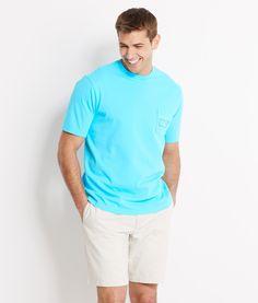 Pocket Tees: Shop Neon Whale Pocket T-Shirt for Men | Vineyard Vines®/ sm