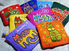Купить Серия кошельков с котами Laurel Burch - laurel burch, кошелек, коты, кошелек женский