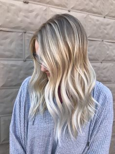 Hand painted highlights | Blonde | Balayage