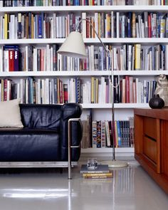 Built in Bookcases Photos, Design, Ideas, Remodel, and Decor - Lonny Built In Bookcase, Bookshelves, Personal Library, World Of Books, Library Books, Room Themes, Contemporary, Modern, Home Office