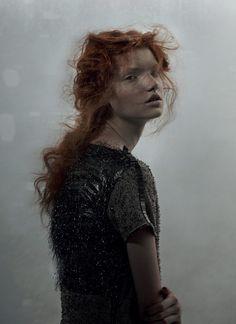 The Libertine Magazine.'Bohèmienne' . Anastasia Ivanova By Domenico Cennamo For Forget Them . Winter 2011.1
