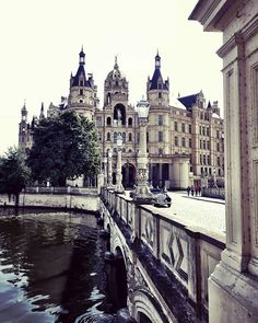 Photography by Frank Brandwijk I Schwerin Germany I 'Schwerin Palace' 'Castle' 'Like a Fairytale' 'the Home of the Dukes of Mecklenburg' Fast Moving Consumer Goods, Tumblr Travel, Fairytale, Palace, Castle, Germany, Culture, Photography, Fairy Tail