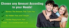 Choose any amount according to your needs visit www.loanforpeople.co.uk