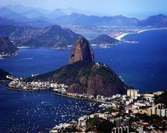 Pão de Açúcar. (Sugarloaf Mountain) In Rio de Janeiro, Brazil.