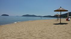 Palio,Kavala,Greece Greece, Patio, Beach, Places, Outdoor Decor, Travel, Home Decor, Yard, Viajes