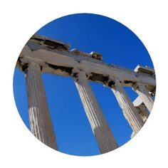 Acropolis Erechtheion - Athens Set Of Poker Chips