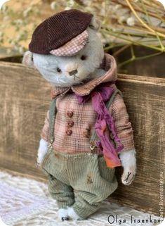 """Коллекционный миша """"Фока"""". Handmade."""