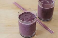 Blueberry Coconut Milk Smoothies Recipe on Yummly. @yummly #recipe