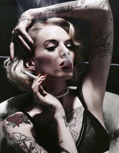 Daria Strokous for Vogue Japan