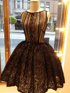 Anaessia black vintage dress