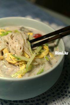 맛있는 요리 레시피 - 리미의 레시피 ::Rimi.kr:: - 호두검은깨 콩국수