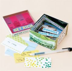Dream Box Kit- an alternative to vision boards. Link to order a kit...or create your own.