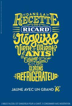Ricard, agence BETC, illustration : Cyril Dosnon, 2013.