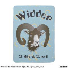 Widder 21. März bis 20. April Babydecke