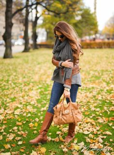 brown tory burch boots cozy and warm fall outfit bmodish