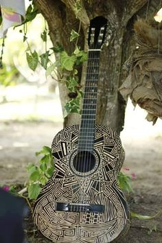 Carved Guitar Acoustic