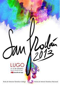 Programa de las Fiestas #SanFroilán 2013 #Lugo del 4 al 12 de octubre.  Vía @Ocio en Galicia