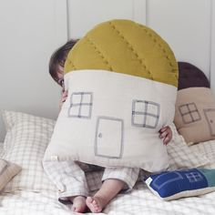 Tilli House Cushion, Large