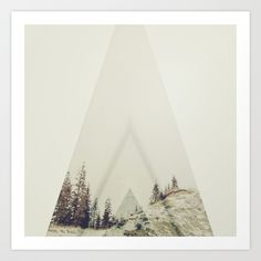 in A cabin in the woods Art Print by Hallwood | Society6