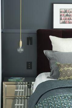 Un appartement parisien comme une suite d'hôtel - Marie Claire Maison