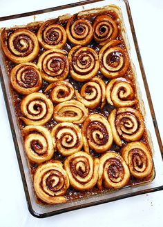cinnamon rolls! (gluten free!) but make in heart shapes!