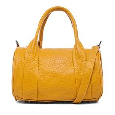 Street Level Studded Duffle Bag Yellow up to 70% off | Handbags | Little Black Bag