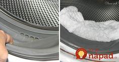 Keď len ocot nestačí: Takto vyčistíte aj veľmi znečistenú práčku a odstránite z nej pleseň