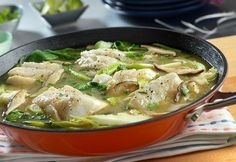 Swanson's Thai Ginger Steamed Cod Recipe