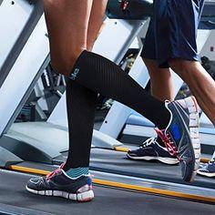 huge selection of c7acc 82b0a Sable Chaussettes Sport Chaussettes de Contention Chaussettes de  compression Sport pour Hommes et Femmes, Chaussettes