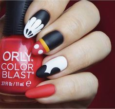 Birthday Nails Art Mickey Mouse 68 Trendy Ideas You are in the right place about nail neon summer He Disney Nail Designs, Nail Designs Spring, Nail Art Designs, Nails Design, Disney Nails Art, Simple Disney Nails, Design Art, Cute Nails, Pretty Nails