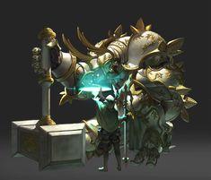Ancient Guardian, O GOK on ArtStation at https://www.artstation.com/artwork/1qxee