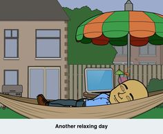 This is the life. #relaxing #stressrelief #stressfree #bitstrips
