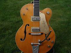 Vintage Guitarz: Vintage 1959 Gretsch 6120 Chet Atkins Signature Guitar