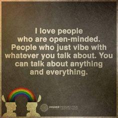 """""""Keep an open mind! #higherperspective"""""""